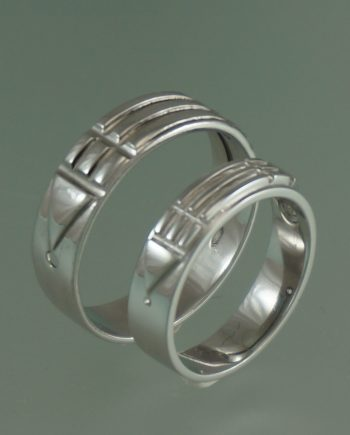 Atlantisringen wit goud spirituele ring