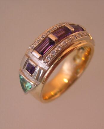 Rainbowring atlantisring spirituele ring